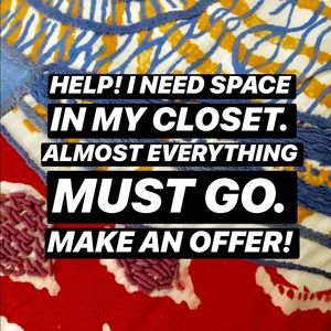 Help Me Empty My Closet!